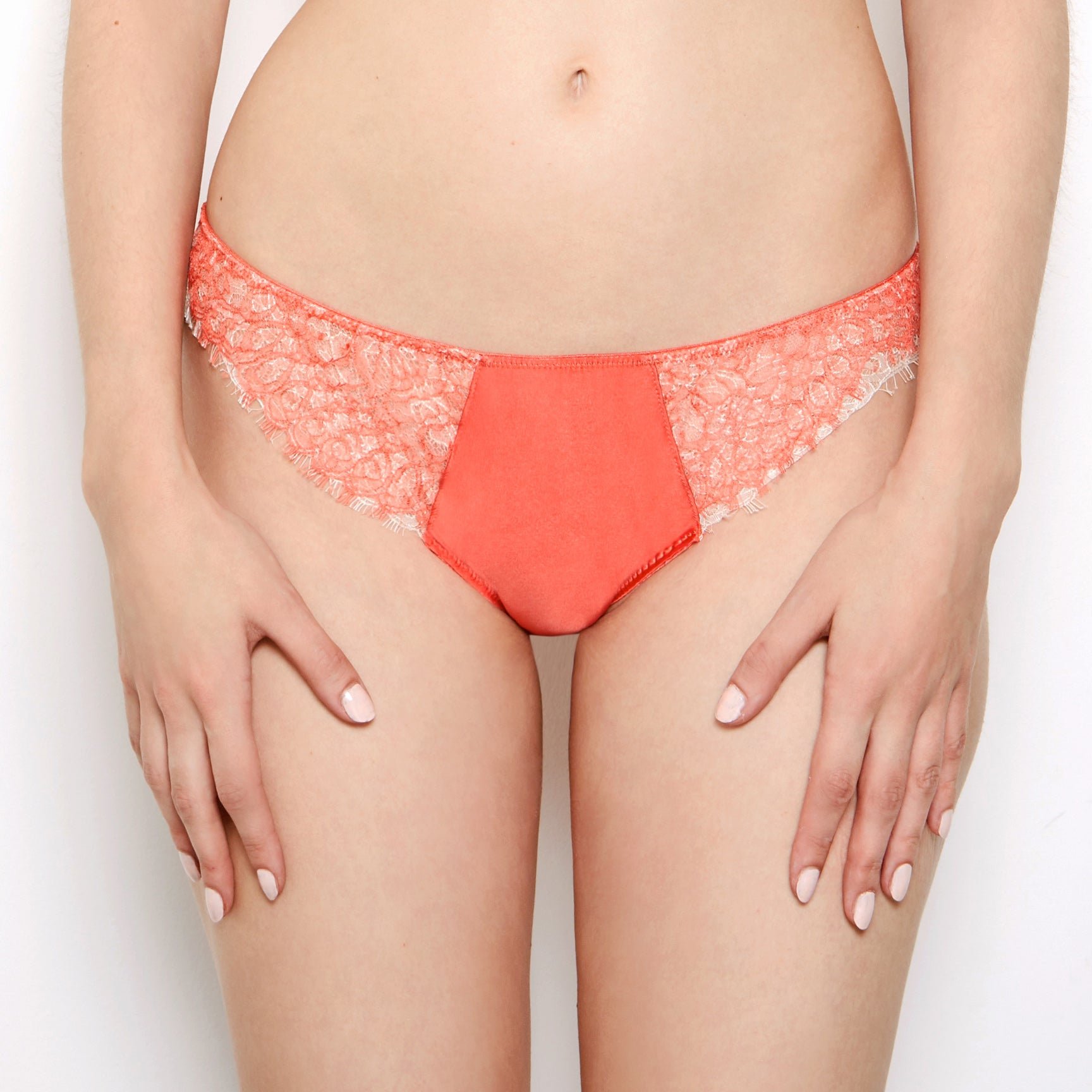 Mariella Coral French Lace Knickers