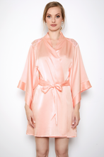 Load image into Gallery viewer, Sophia Apricot Blush Robe