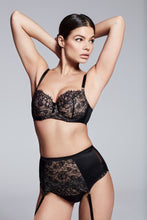 Load image into Gallery viewer, Abbie Black Eyelash Lace Bra