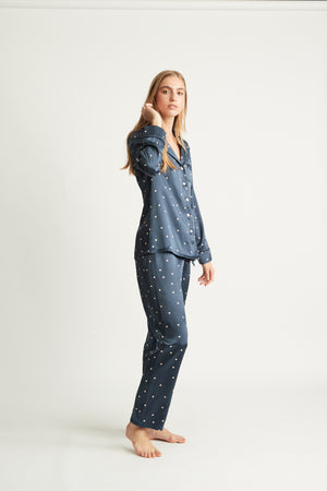 Open image in slideshow, Silk Spot Pyjamas