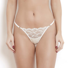 Load image into Gallery viewer, Sophia Ivory Lace G-String