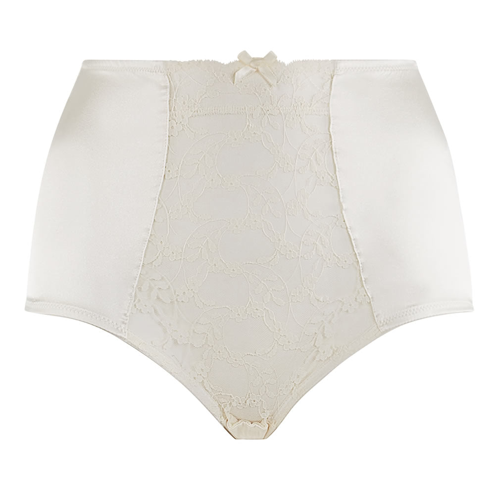 Sophia Ivory LaceHigh Waisted Knickers