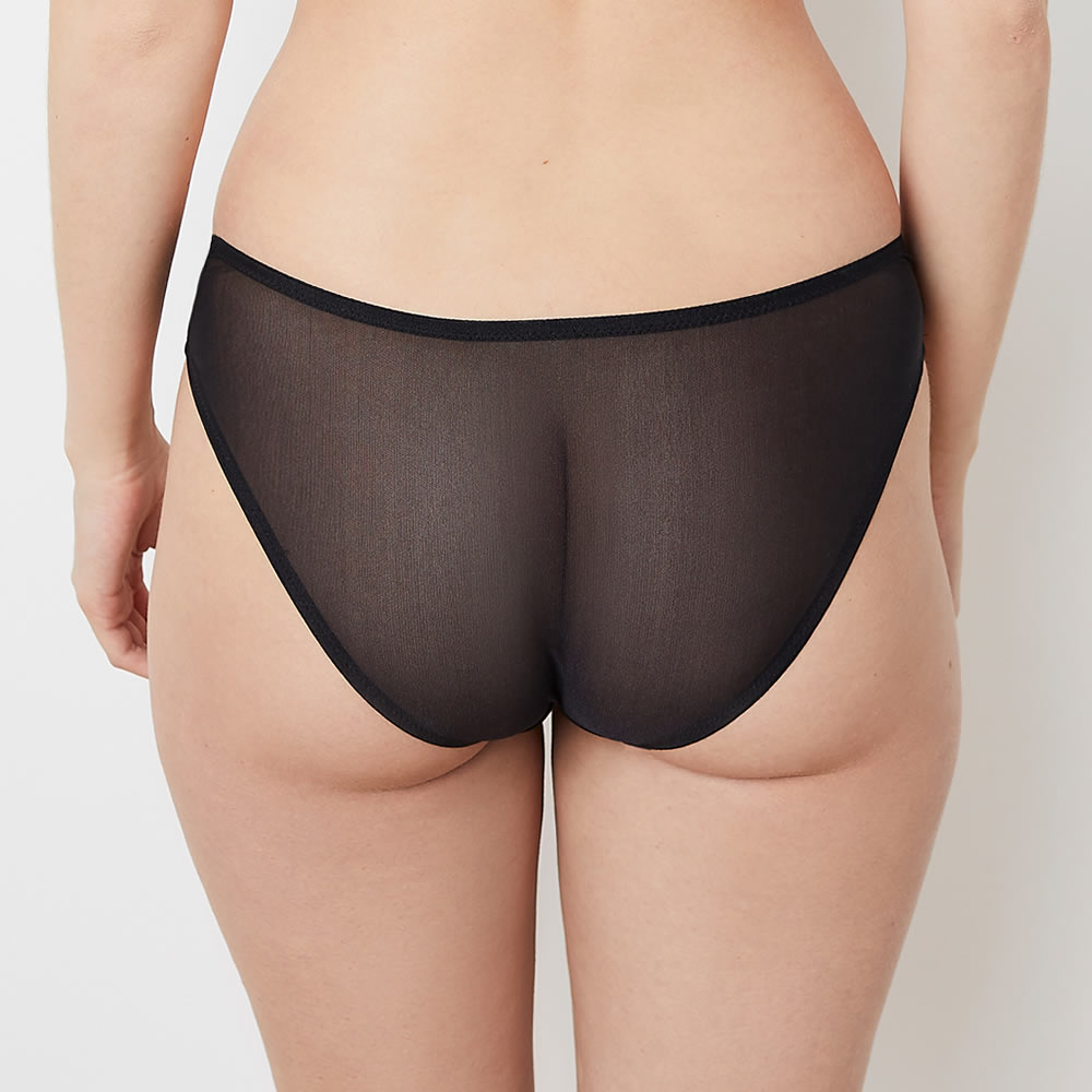 Sophia Black Lace Knickers