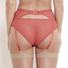 Load image into Gallery viewer, Sophia RedLace Suspender Belt