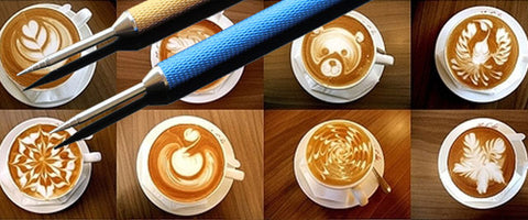 Coffee Art Needles