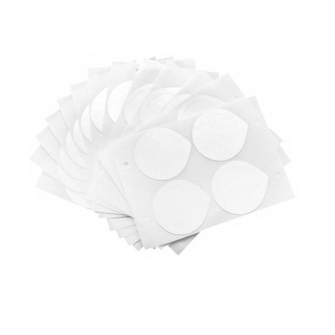 100pcs Adhesive Aluminum Lids Seals For Filling  Reusable Nespresso Pod Capsule Coffee Film Silicone O-ring