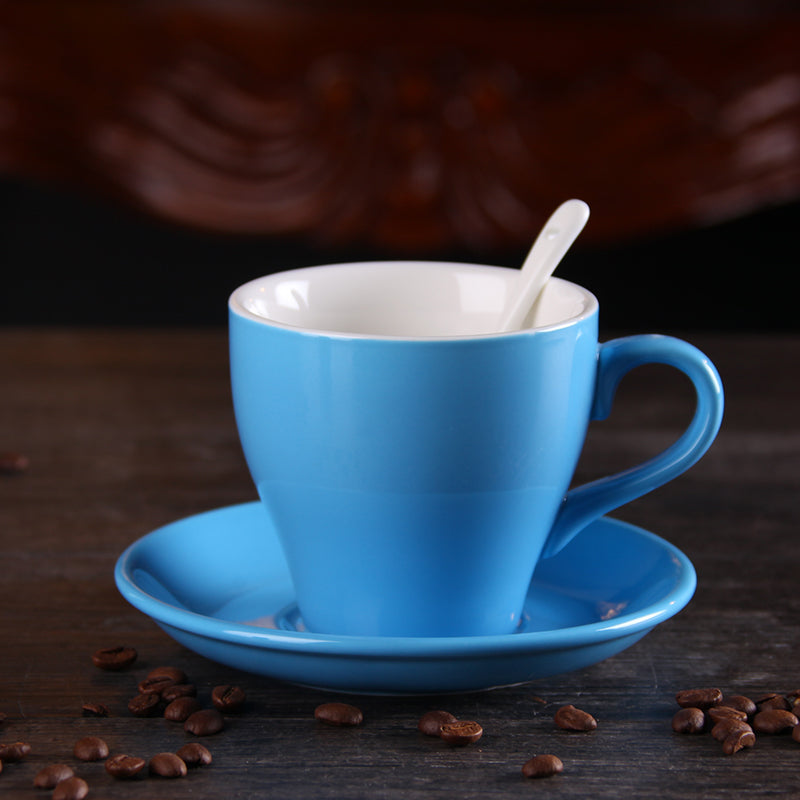 100ml padded ceramic Macaron coffee cup Frosted Cups small and lovely office furniture