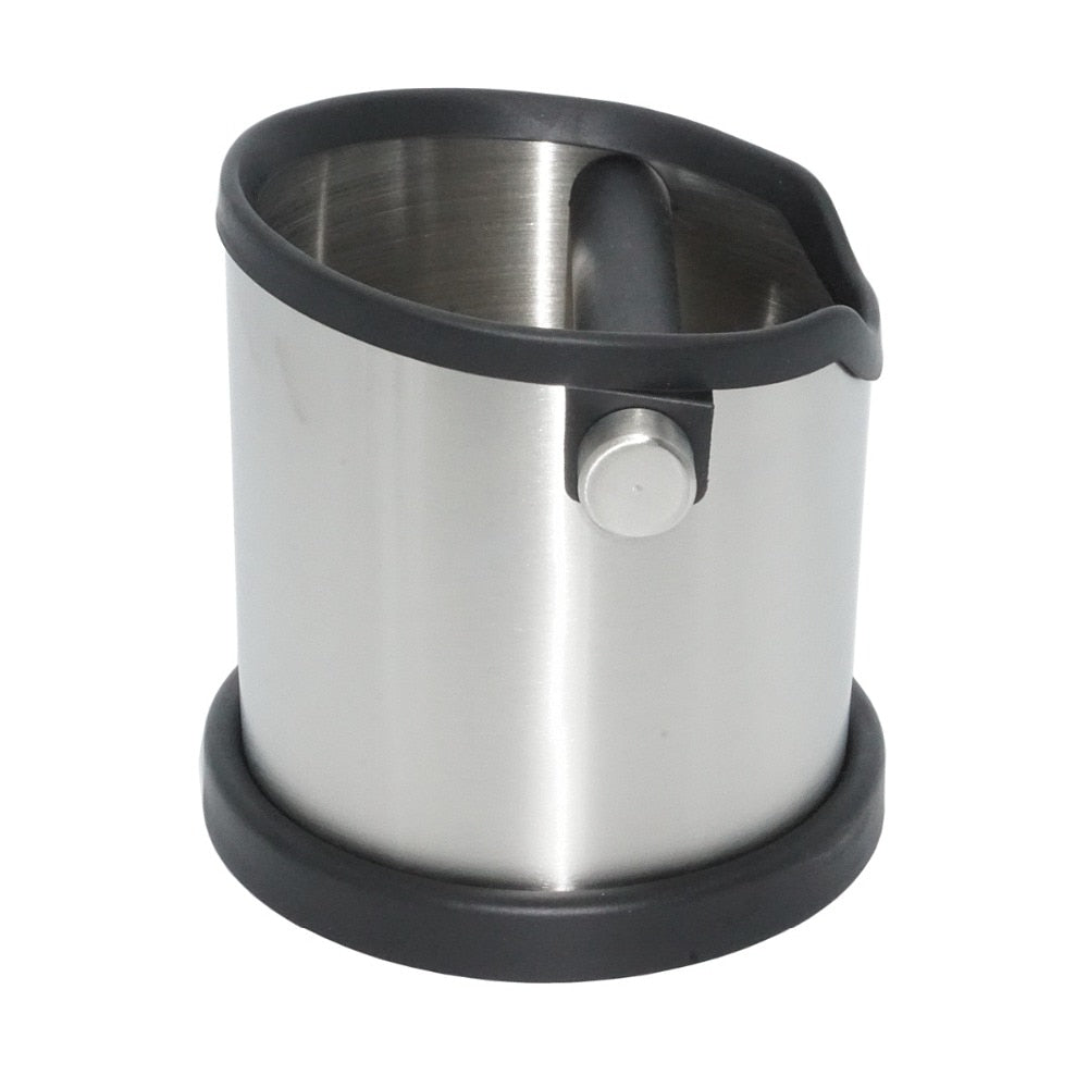 1800ML Stainless Steel Coffee Knock Box Espresso Grind Container Waste Bin Coffee Tools for