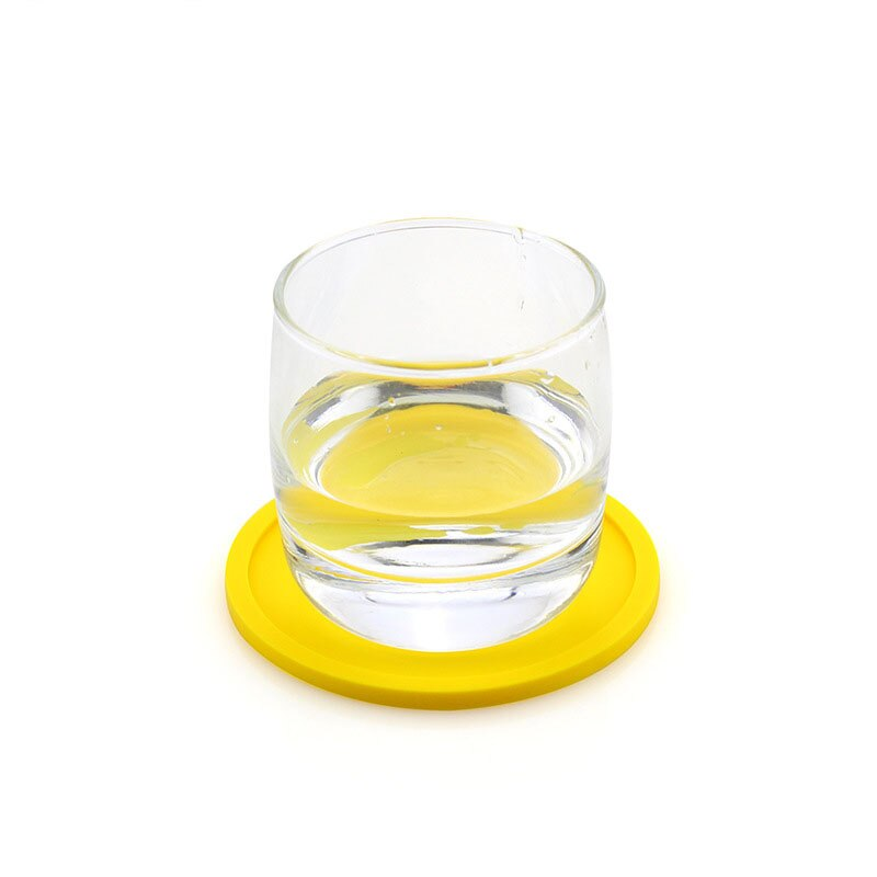 1pcs Silicone Insulation Coffee Tamper Mat Non-slip Heat Resistant Placemat Tray Drink Glass Coaster