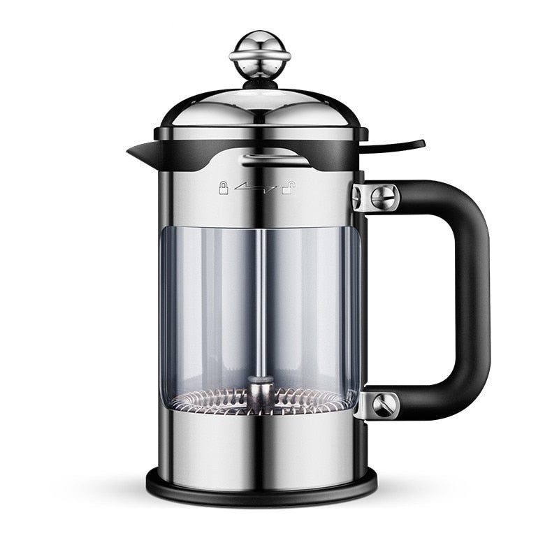 304 French Press Coffee Maker Best Double Walled Stainless Steel Cafetiere Insulated Coffee Tea