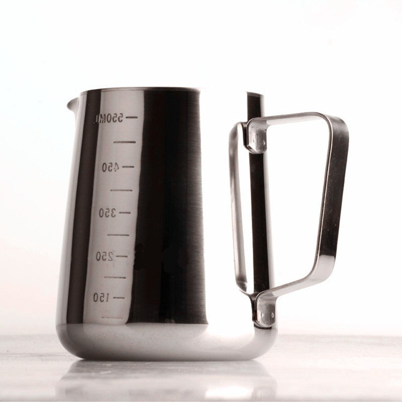 350/600/900ml Stainless Steel Espresso Coffee Pitcher Barista Kitchen Home Craft Scale Coffee