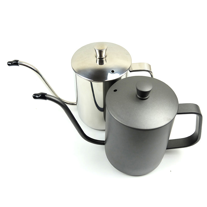 350ml/600ml Coffee Tea Pot 304 Stainless Steel Long Narrow Gooseneck Spout Kettle Hand Drip Kettle