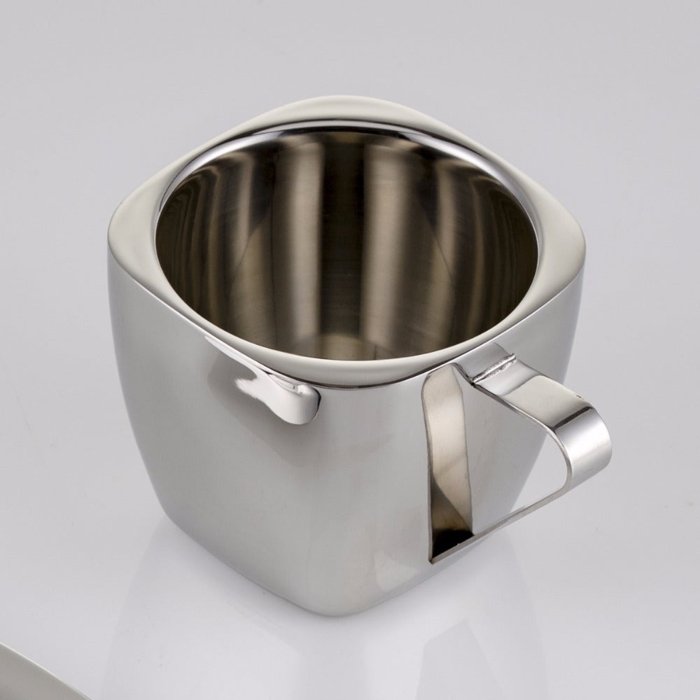 3oz 5oz 8oz 240ml Stainless steel coffee cup Double anti-hot insulation Lugs Coffee Vacuum square