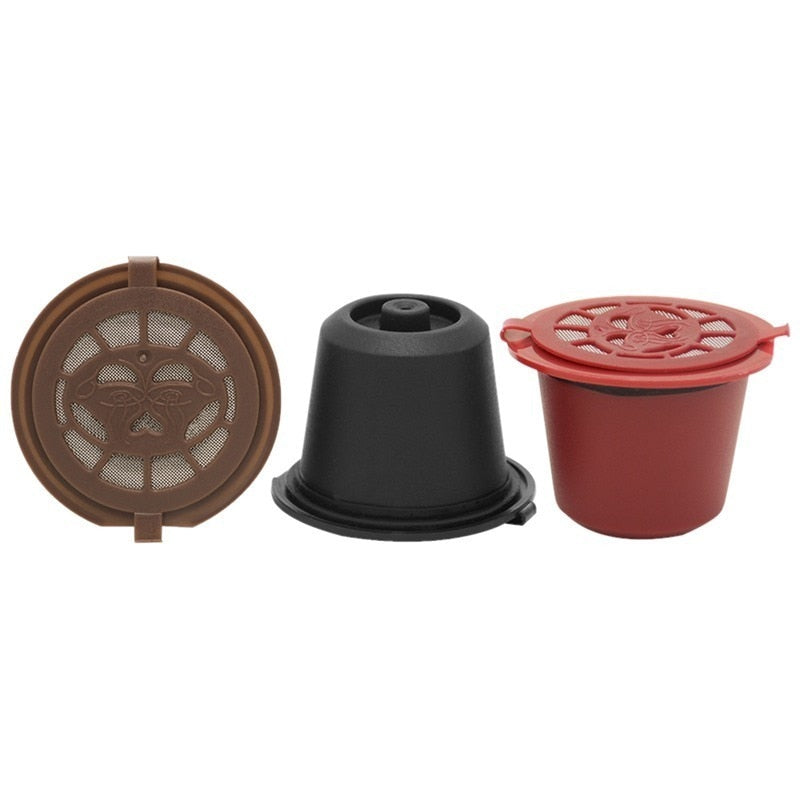 4PCS Nespresso Refillable Reusable Nespresso Coffee Capsule 20ML Filters Reutilisable Coffee Capsule