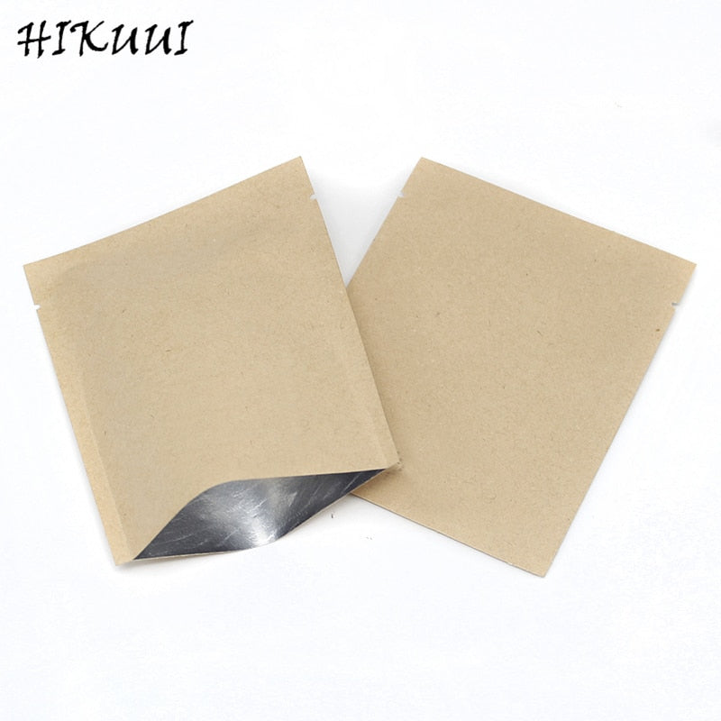 50/100/200 Set Combination Coffee Filter Bags and Kraft Paper Coffee Bag,Portable Office Travel Drip