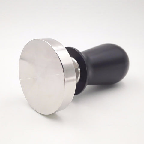 51/58mm Espresso Coffee Tamper Stainless steel Constant Pressure Calibrated Barista Flat Base Coffee Bean Press