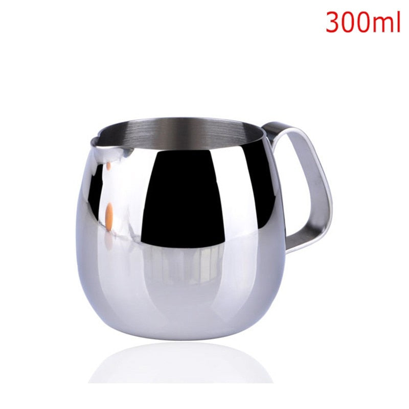 600ml Stainless Steel Coffee Pitcher Barista gear 3 types choice Kitchen Coffee Milk Frothing coffee