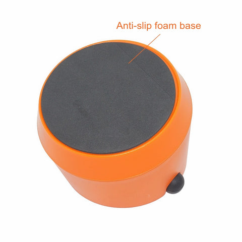 ABS Coffee Knock Box Espresso Grounds Container for Barista + Non-slip Base