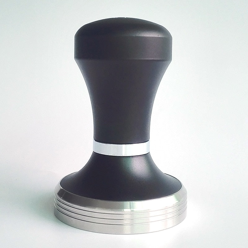 Adjustable Australian Style Espresso Coffee Tamper Black Coffee Tamper Machine Press Flat Base