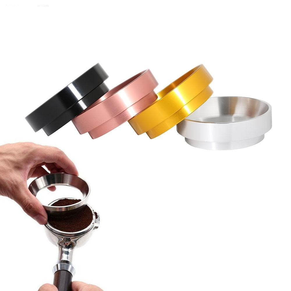 Aluminum IDR Intelligent Dosing Ring For Brewing Bowl Coffee Powder Espresso Barista Tool For 58MM