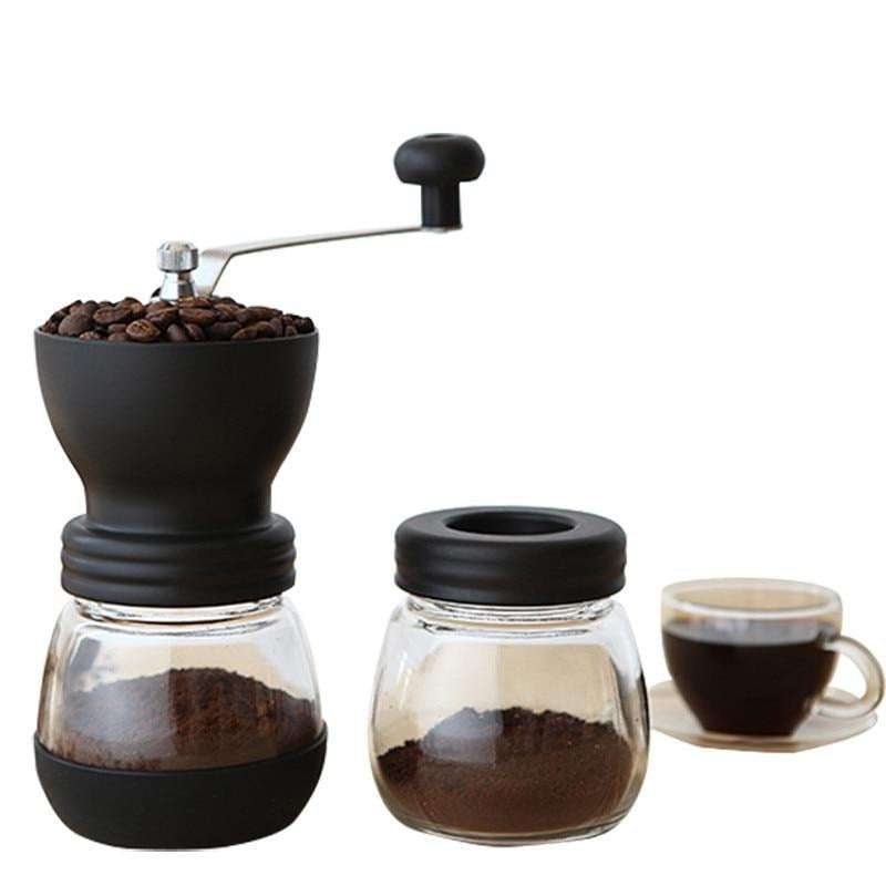 BAISPO Retro Manual Coffee Grinder Coffee Hand Mill Coffeeware Coffee Beans Pepper Spice Grinder