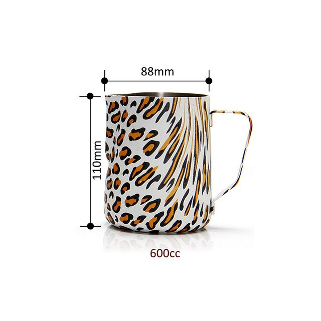 Coffee Milk Frothing Pitcher Espresso Coffee Pitcher Stainless Steel Coffee Barista Craft Coffee