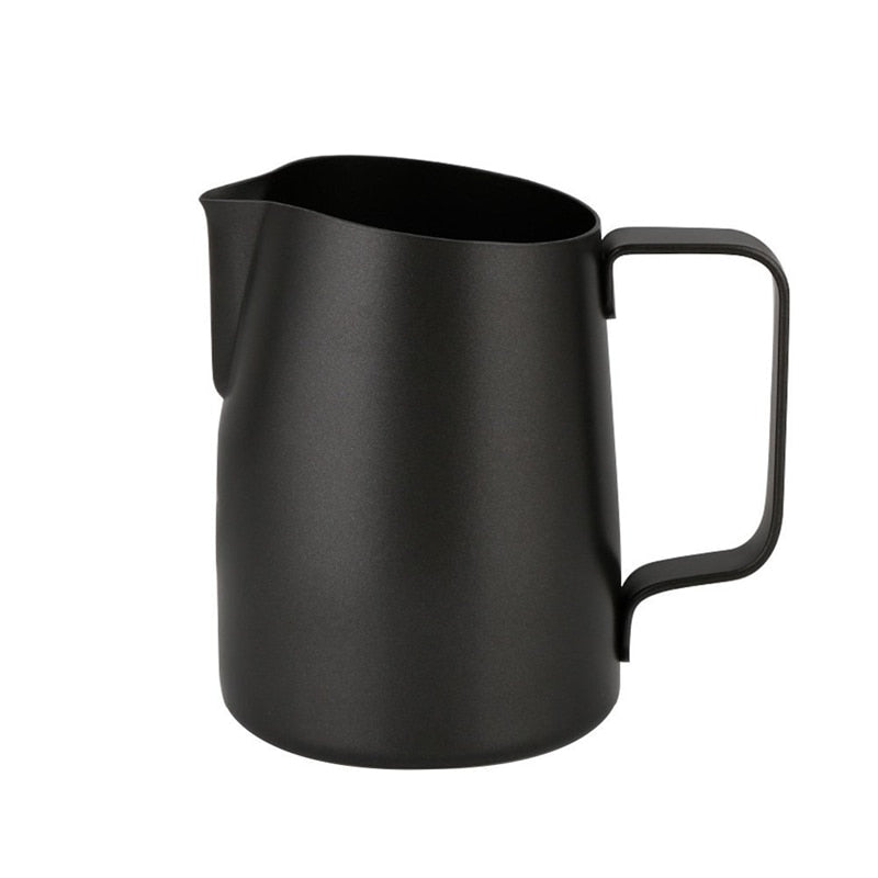 Coffee Pitcher 450ML Stainless Steel Milk Frothing Jug Mugs Espresso Coffee Pitcher Barista Craft