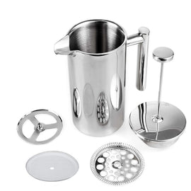 Coffee Press Stainless Steel French Press Cafetiere Coffee Maker Double Walled Construction