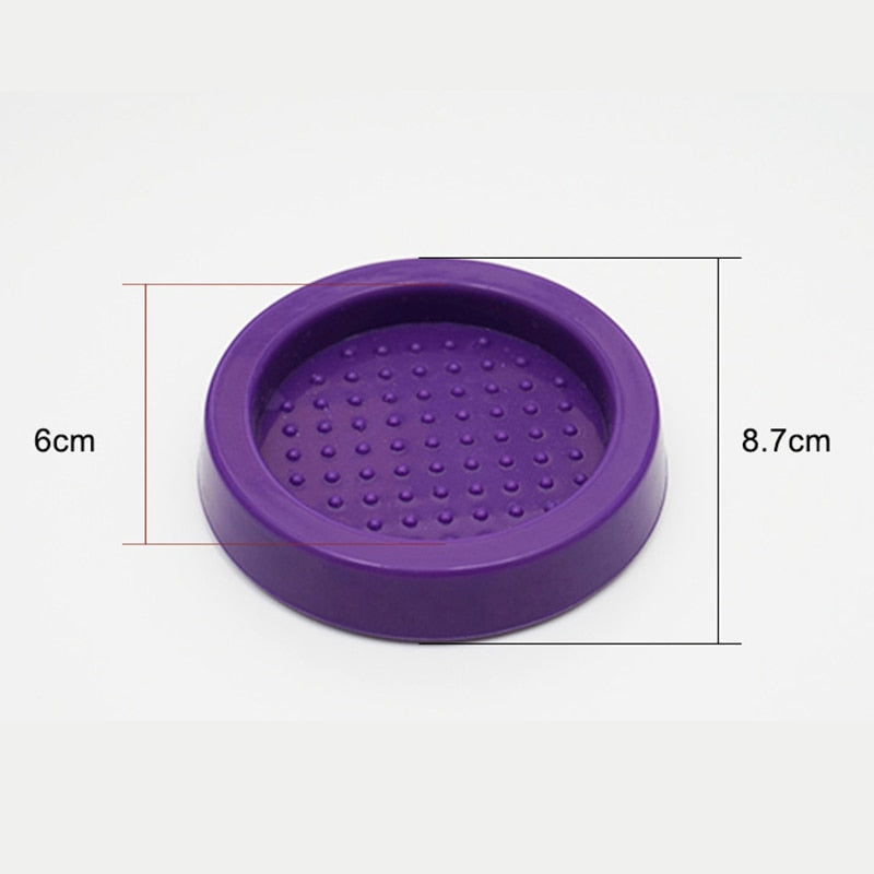 Coffee Tamper Mat Multicolor Rubber Tamping Stand for Coffee Tamper Seat Barista Tools for Coffee