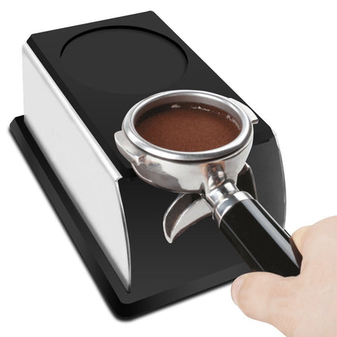 Coffee Tamper Stand, Sturdy Stainless Steel Tamping Stand for Coffee Machine and Coffee Tamper
