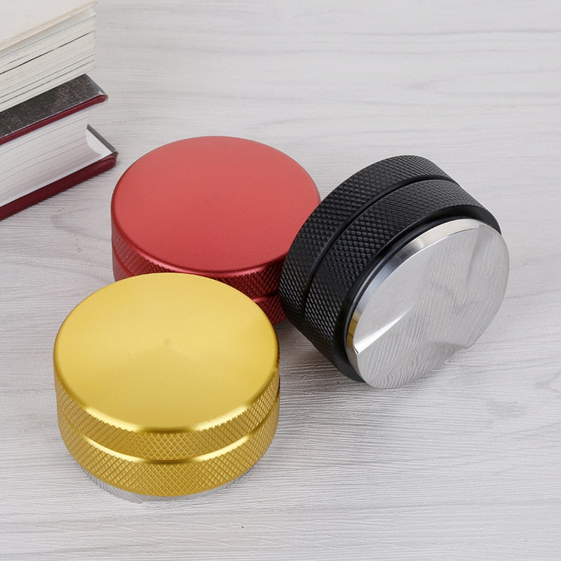 Convex Coffee Tamper Coffee Tamper,Stainless Steel Base Coffee Bean Press Upgrade Coffee Tamper