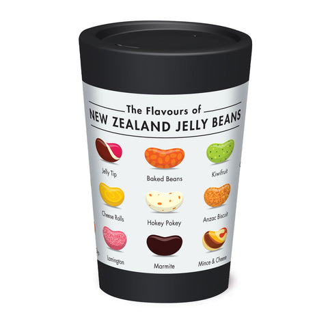 Cuppa Coffee Cup - Jelly Beans by NZ Artist Glenn Jones - Large (12oz/350ml)