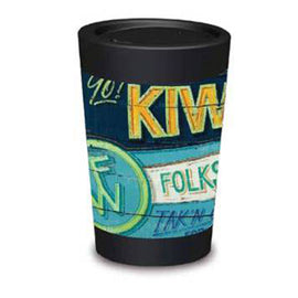 Cuppa Coffee Cup - Kiwilander by NZ Artist Jason Kelly - Large (12oz/350ml)