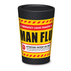 Cuppa Coffee Cup - Man Flu by NZ Artist Glenn Jones - Large (12oz/350ml)