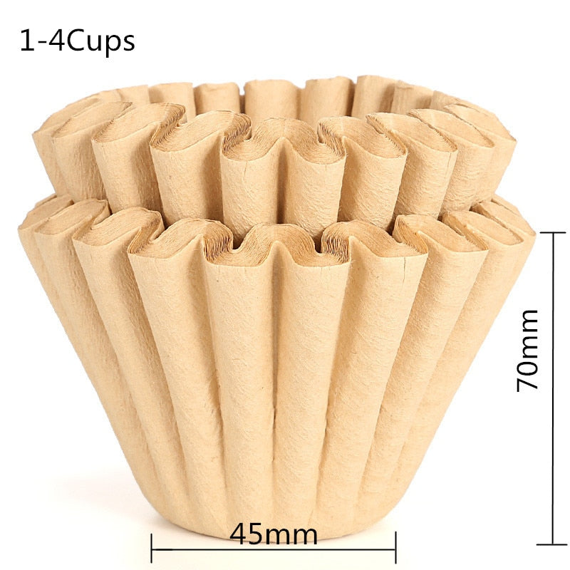 DROHOEY Coffee Dripper Foldable Clever Coffee Filter V60 Style Coffee Drip Filter Cup Portable