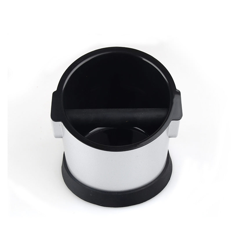 Double Layers Coffee Knock Box Creative Tilt Design Mini/Large Capacity Knock Box Manual Grinder