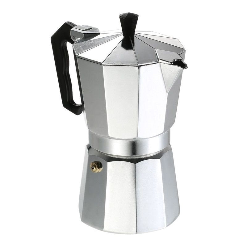 Duolvqi Aluminum Coffee Maker Durable Moka Cafeteira Expresso Percolator Pot Practical Moka Coffee