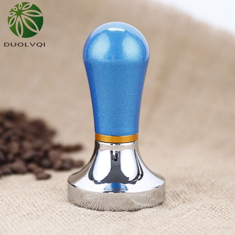 Duolvqi Practical Coffee Maker Pressure Powder Hammer Coffee Tampers Aluminum Pressure Bar Coffee