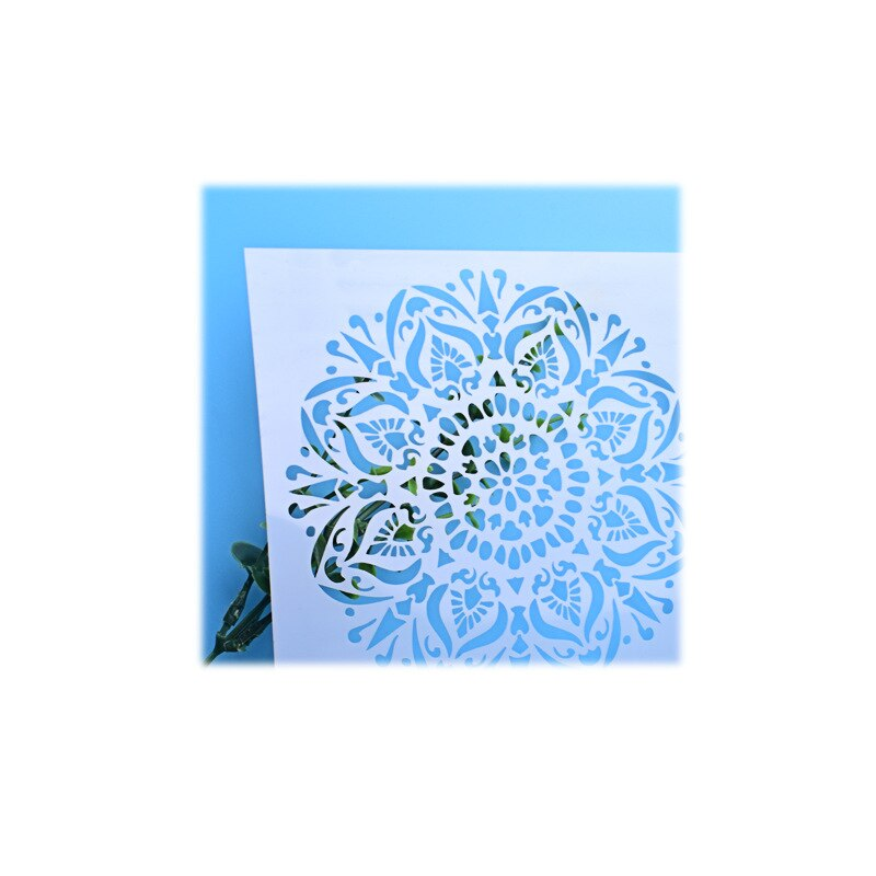 Flower Pattern Cake Decorative Stencil Icing Sugar Lace Spraying Decoration Mould Baking Appliance
