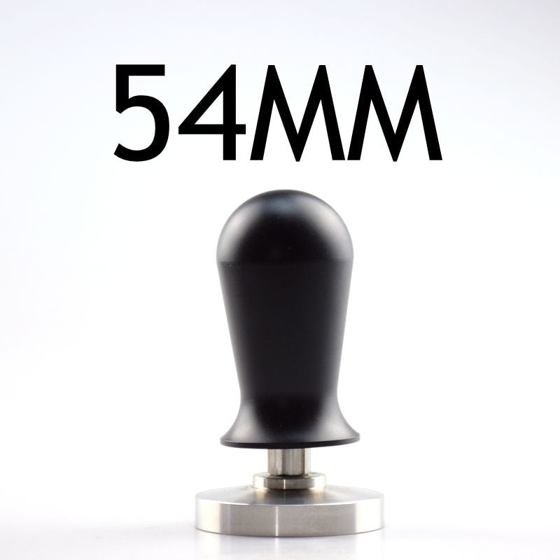 Stainless Steel Espresso Coffee Machine Tamper 54MM 58MM Flat Base Coffee Hammer