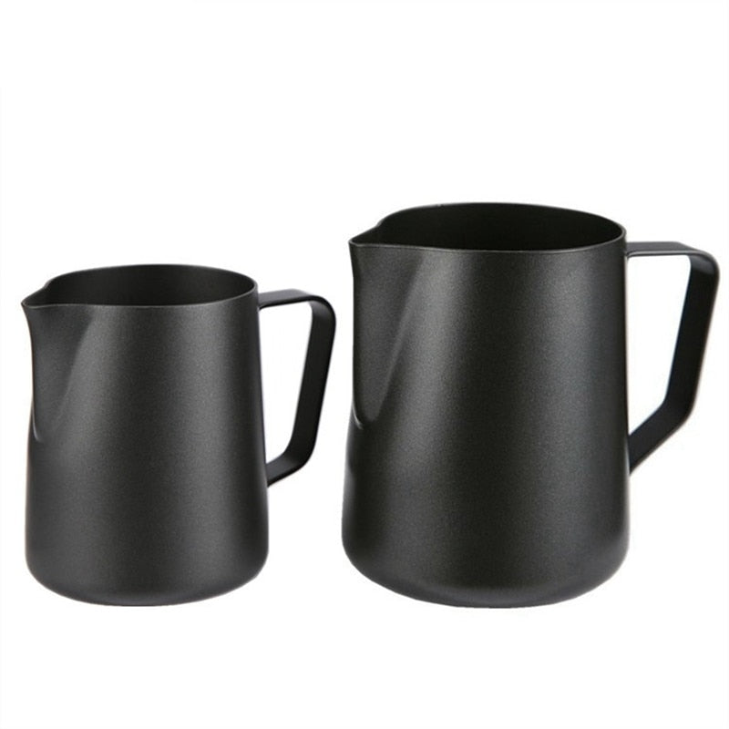 Frothing jug Espresso Coffee Pitcher Barista Craft Coffee Latte Milk Stainless Steel Colorful 350ml