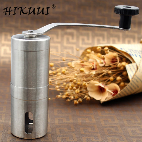 HIKUUI 1PCS 30g/40g Manual coffee grinder machine stainless steel grinder hand push coffee machine