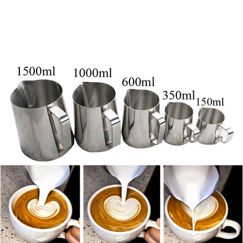 High Qaulity Stainless Steel Milk Frothing Jug Espresso Coffee Pitcher Barista Craft Coffee Latte