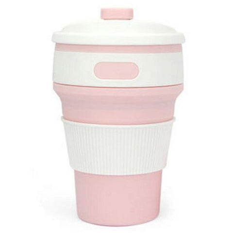 Hot New Folding Silicone Portable Silicone Telescopic Drinking Collapsible coffee cup multi-function