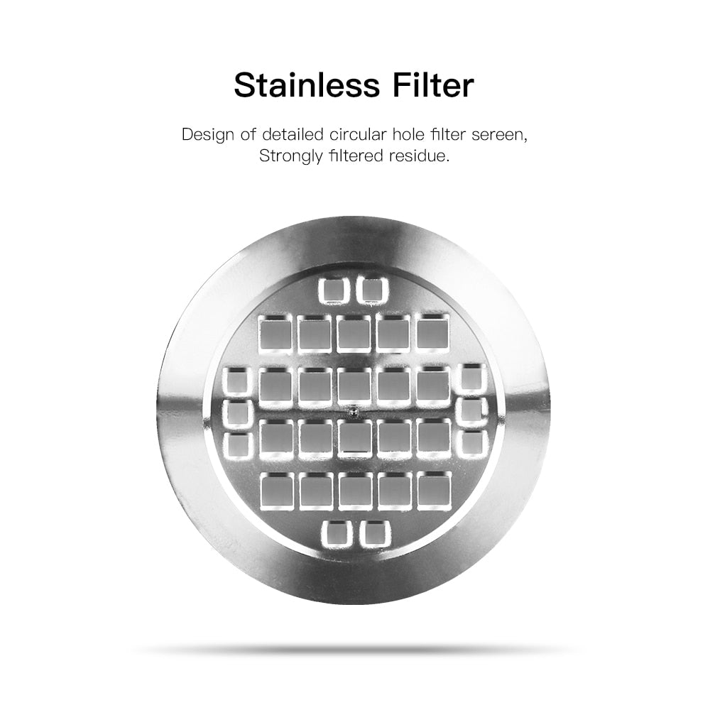 ICafilas Nespresso Refillable Capsule Reusable Coffee Filter Dripper Steel Nespresso Cafeteira