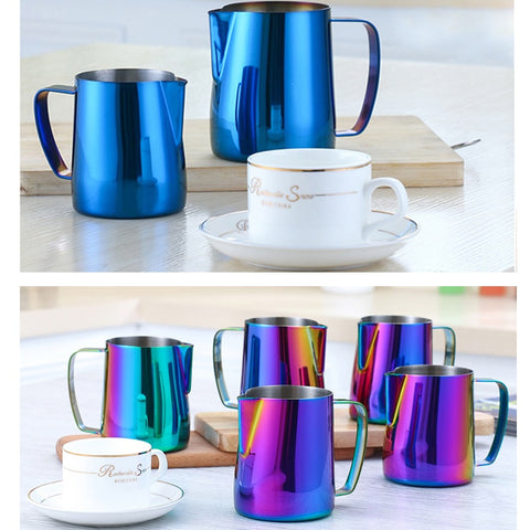 Milk Frothing jug Espresso Coffee Pitcher Barista Craft Coffee Latte Milk Frothing Jug Stainless