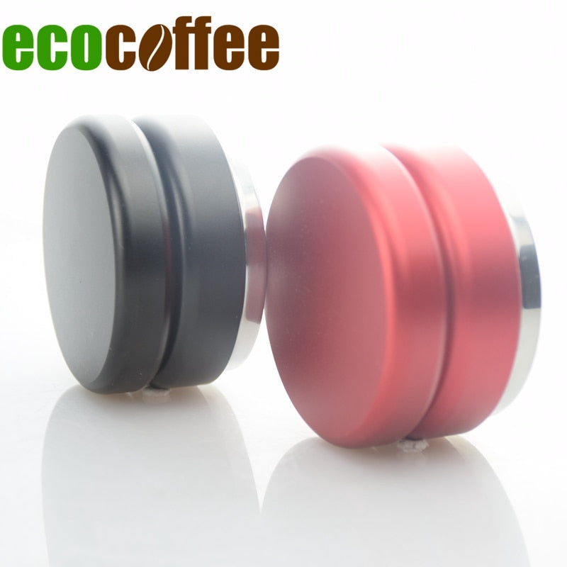 Profession Stainless Steel Espresso Coffee Tamper 58.5MM Adjustable Maracoon Coffee Distributor