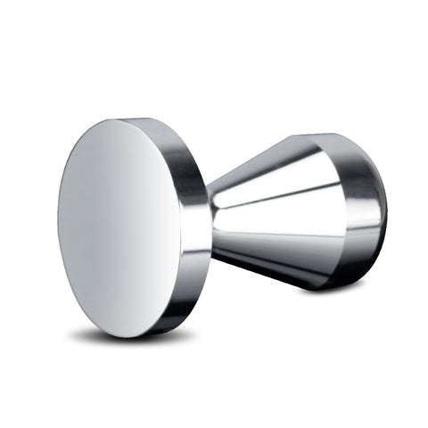 Recaps 51mm or 58mm Solid Iron with Chrome Plated Base Coffee Tamper for Espresso Coffee Machines