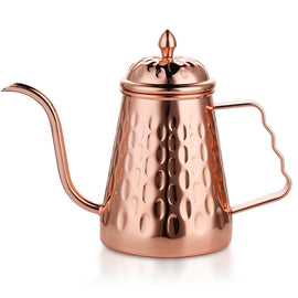 Rokene Coffee Kettle Stainless Steel Pour Over Gooseneck Kettle Hand Drip Tea Pot with Long