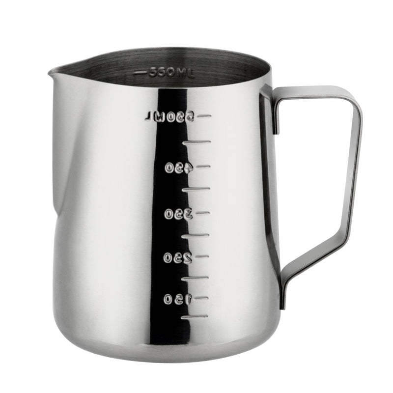 Rokene Stainless Steel Espresso Coffee Pitcher In Kitchen Home Coffee Jug Latte Milk Frothing Jug